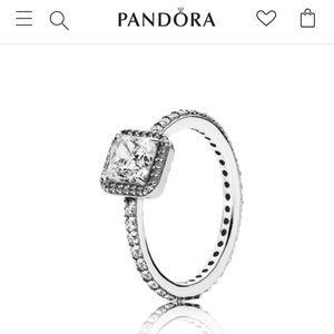 Pandora Timeless Elegance Ring- Size 8